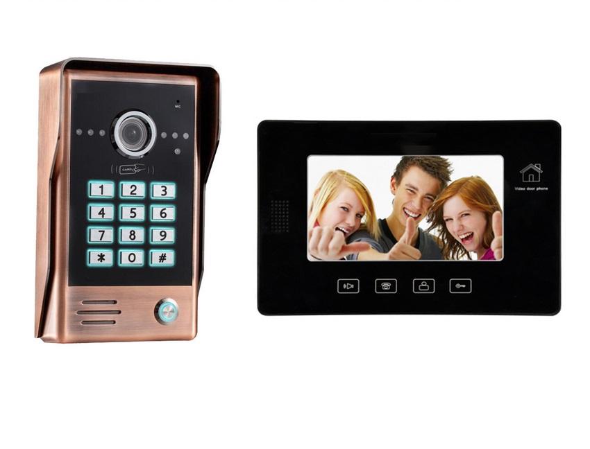 DWT-960C+10CG密码别墅可视对讲